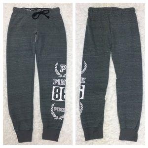 VS Pink Jogger Sweatpants 7S